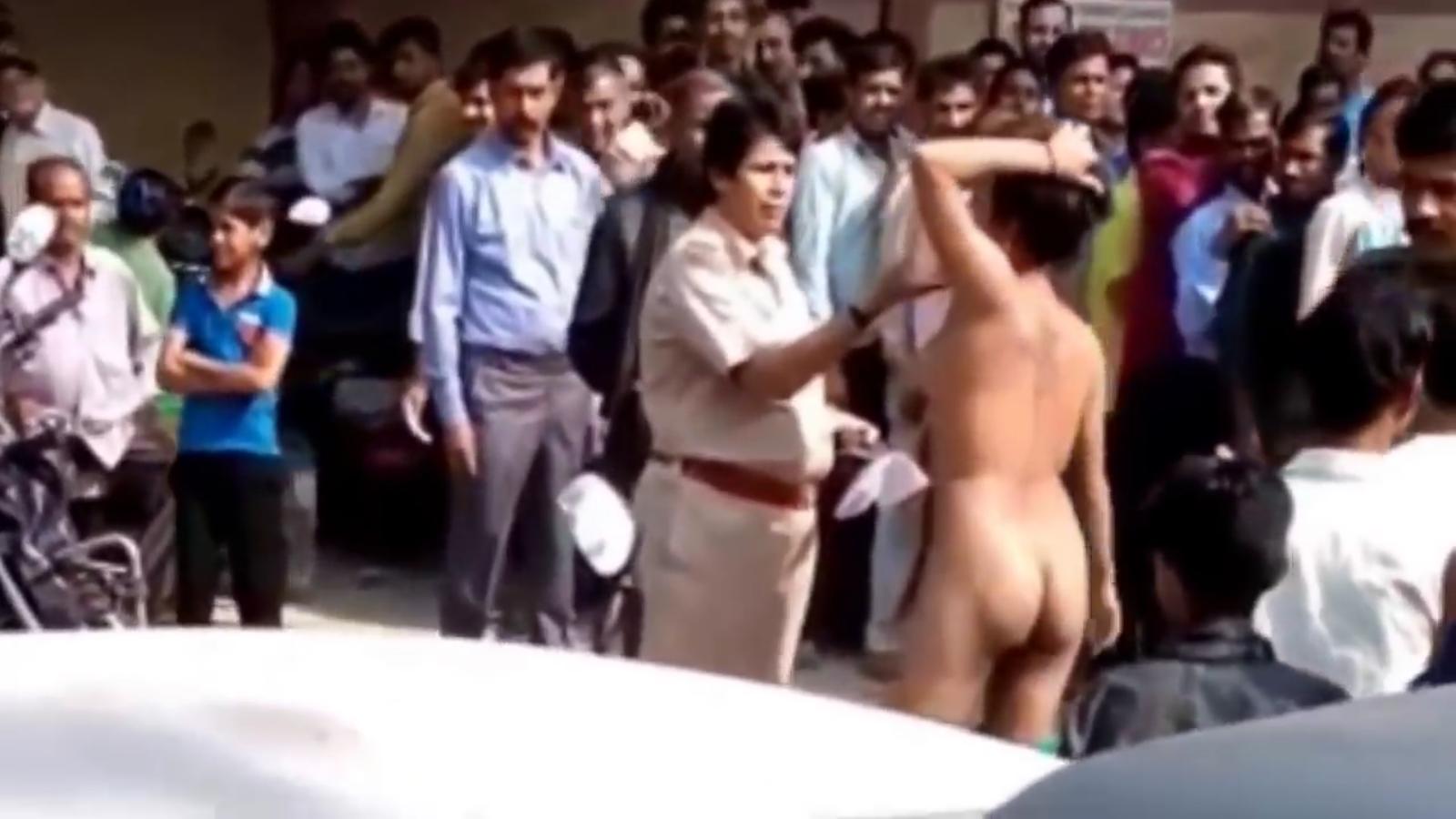 Delhi Atm Naked Girl